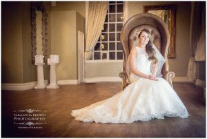Seated Bride at 30 james street