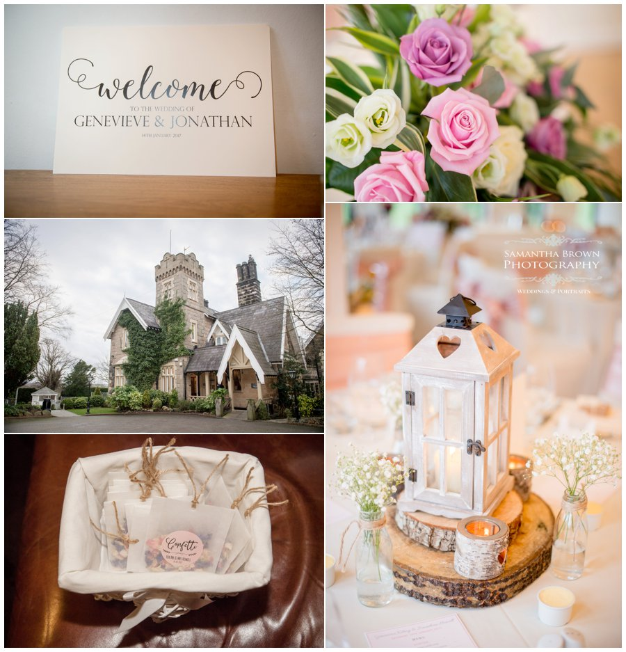 Wedding details at West Tower