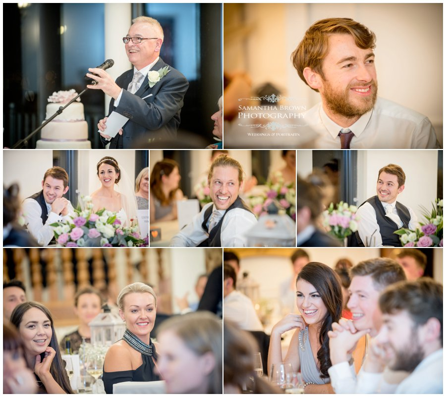 wedding speeches at West Tower
