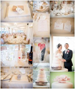 wedding cake at west tower