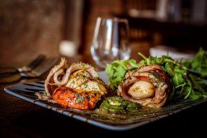stuffed squid Italian recipe from Amore restaurant Liverpool