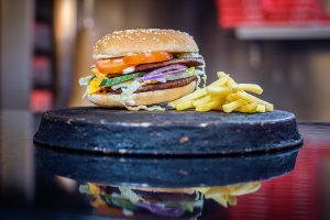 Burger and fry Liverpool