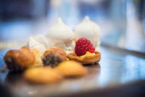 raspberry cake in Alba Italy