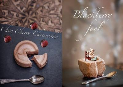 Chocolate puddings