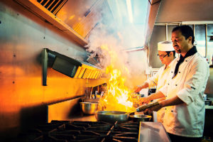 Indian Chefs cooking in Liverpool