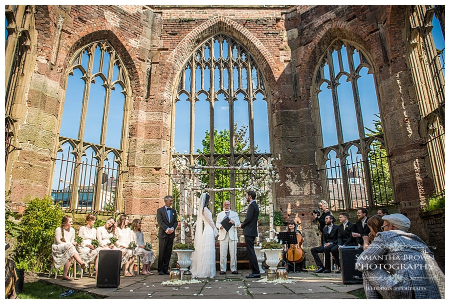 St Lukes Bombed out Church Liverpool wedding
