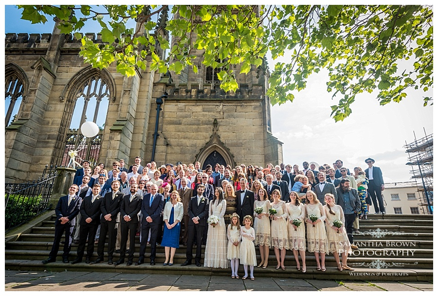 St Lukes Bombed out Church Liverpool group photo