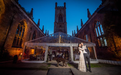 Bombed Out Church Wedding