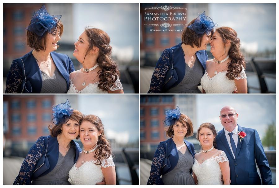 mum and bride at Malmaison Liverpool