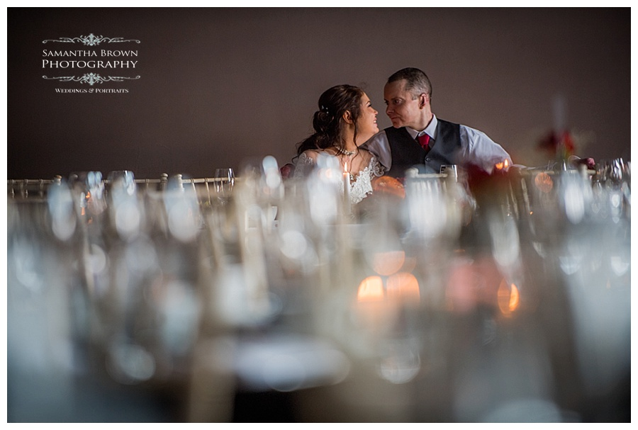 bride and groom shots at Malmaison Liverpool